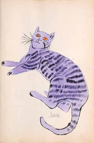 Andy Warhols Cat